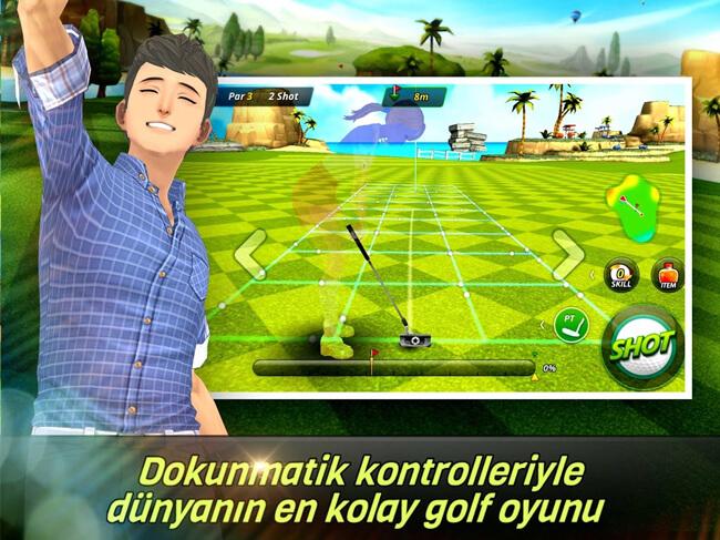 netmarble nice shot golf mobile game image 2