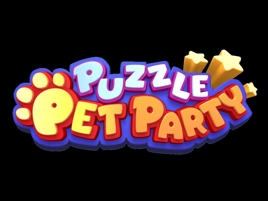puzzle pet party mobil bulmaca oyunu logo 1