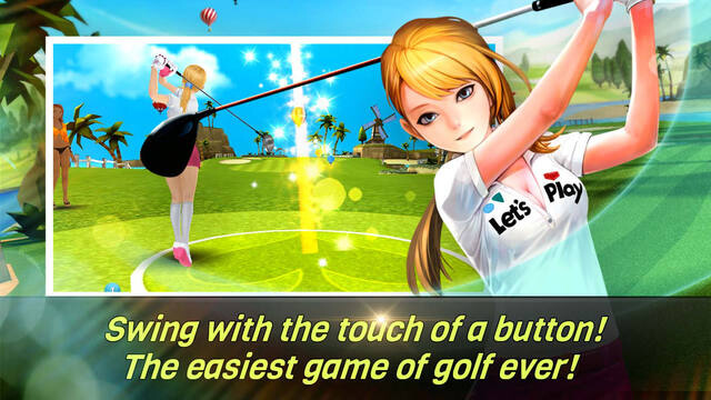 netmarble nice shot golf mobile game content 1