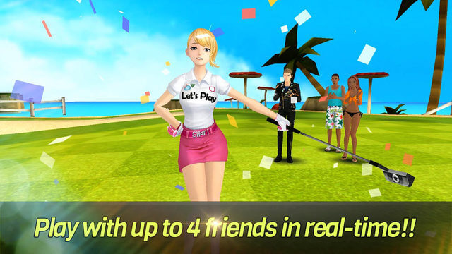 netmarble nice shot golf mobile game content 2